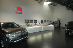 Showroom Mitsubishi